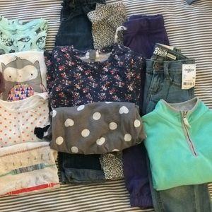 Shirts & Tops - 5T girls clothing lot